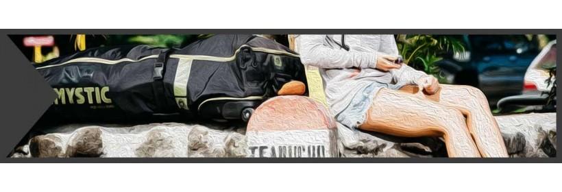 Gearbags mit Rädern für Kites und/oder Boards